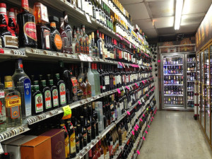 Bay Ho Liquor Aisle